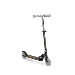 Scooter cu casca, cotiere si genunchiere Toyz TAURO Negru