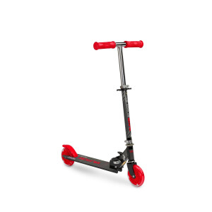 Scooter cu casca, cotiere si genunchiere Toyz TAURO Rosie