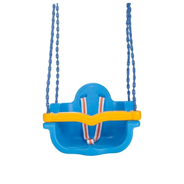 Leagan de interior/exterior Pilsan JUMBO SWING cu lant Albastru