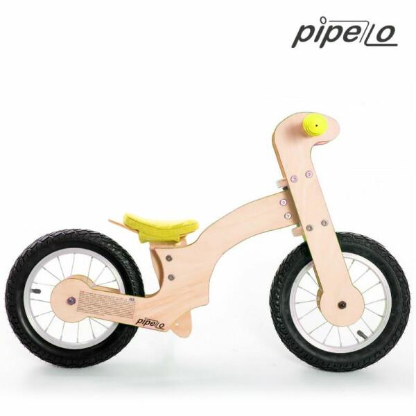 Bicicleta fara pedale Pipello Bikes LILY Yellow