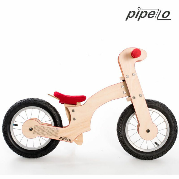 Bicicleta fara pedale Pipello Bikes LILY Red