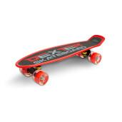 Skateboard cu casca, cotiere si genunchiere Toyz DEXTER Rosu