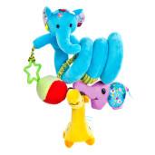 Spirala cu jucarii pentru patut/carucior Sensillo Elephant