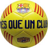 Minge de fotbal FC Barcelona CATALUNYA Yellow marimea 5