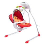 Leagan electric Caretero BUGIES Red (Resigilat)