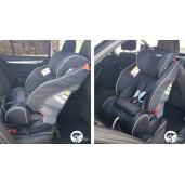 Scaun auto Klippan TRIOFIX MAXI 9-36 Kg cu BAZA ISOFIX Black/Orange