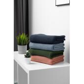 Paturica de bumbac si bambus Sensillo 100x80 cm Jeans