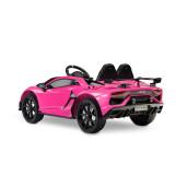 Masinuta electrica cu telecomanda Toyz Lamborghini Aventador SVJ 12V Pink