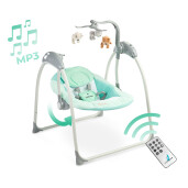 Leagan electric cu telecomanda Caretero LOOP Mint (Resigilat)