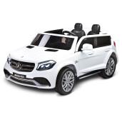 Masina electrica cu doua locuri Toyz MERCEDES-BENZ GLS63 Alba