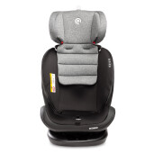 Scaun auto rotativ Caretero MUNDO 0-36 Kg Isofix Gri