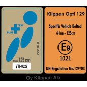 Scaun auto Klippan OPTI129 i-Size Rearfacing 125 cm/32 Kg Sunset