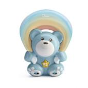 Proiector cu melodii Chicco Rainbow Bear Albastru