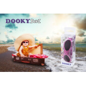Ochelari cu protectie UV Dooky BabyBanz Pink Stars