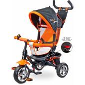 Tricicleta cu maner si scaun reversibil Toyz TIMMY Orange