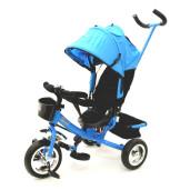 Tricicleta cu maner Skutt AGILIS Blue