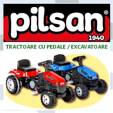 Tractoare si excavatoare cu pedale Pilsan | Pui Mic Targu-Mures